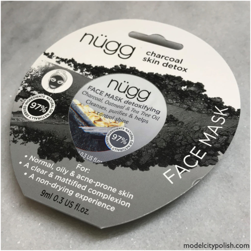 Black Charcoal Mask by nügg Beauty