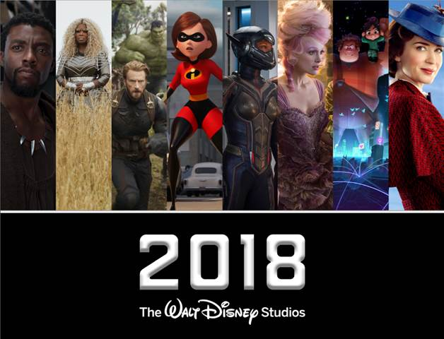 Walt Disney Studios Motion Pictures for 2018