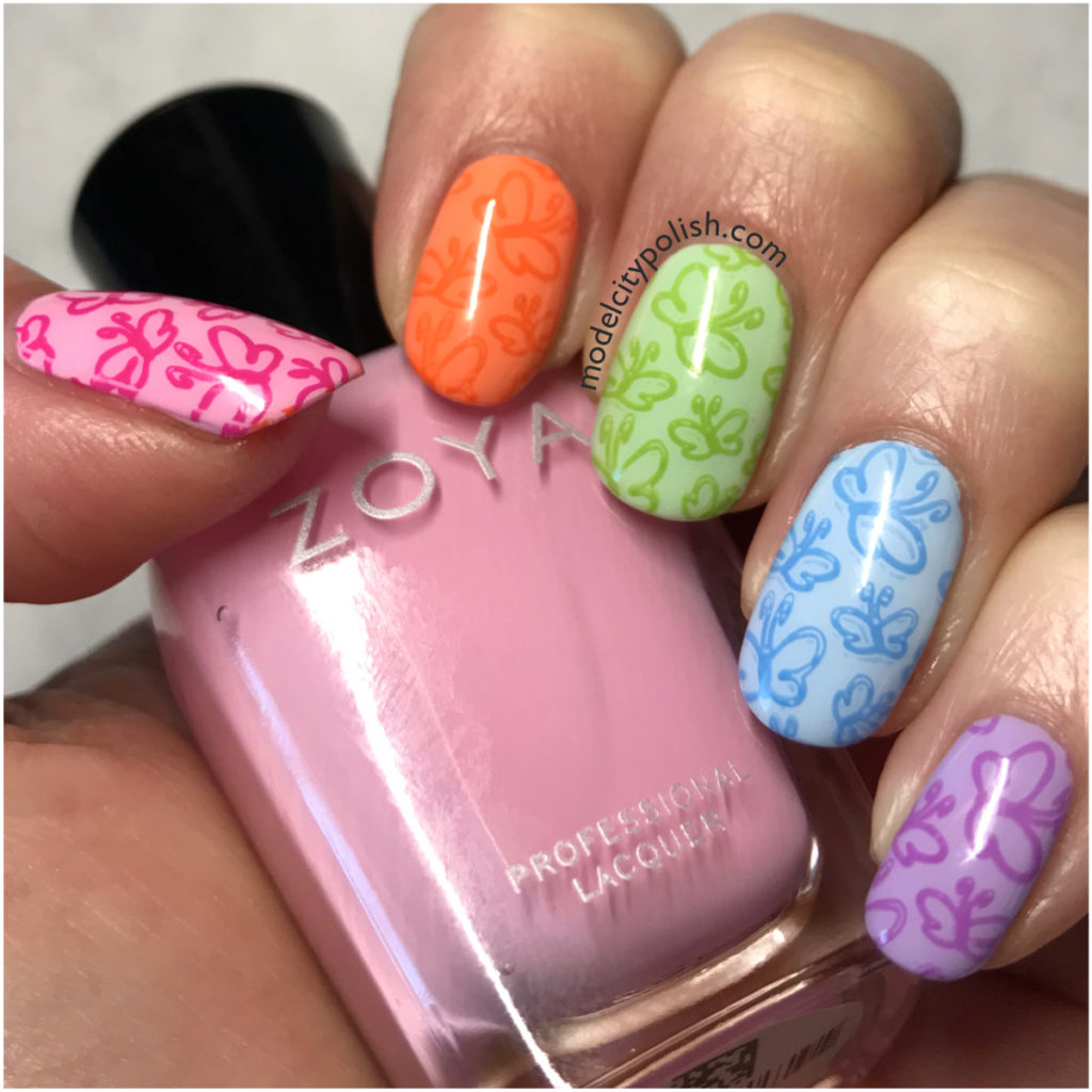 Rainbow Butterflies with Zoya and DRK