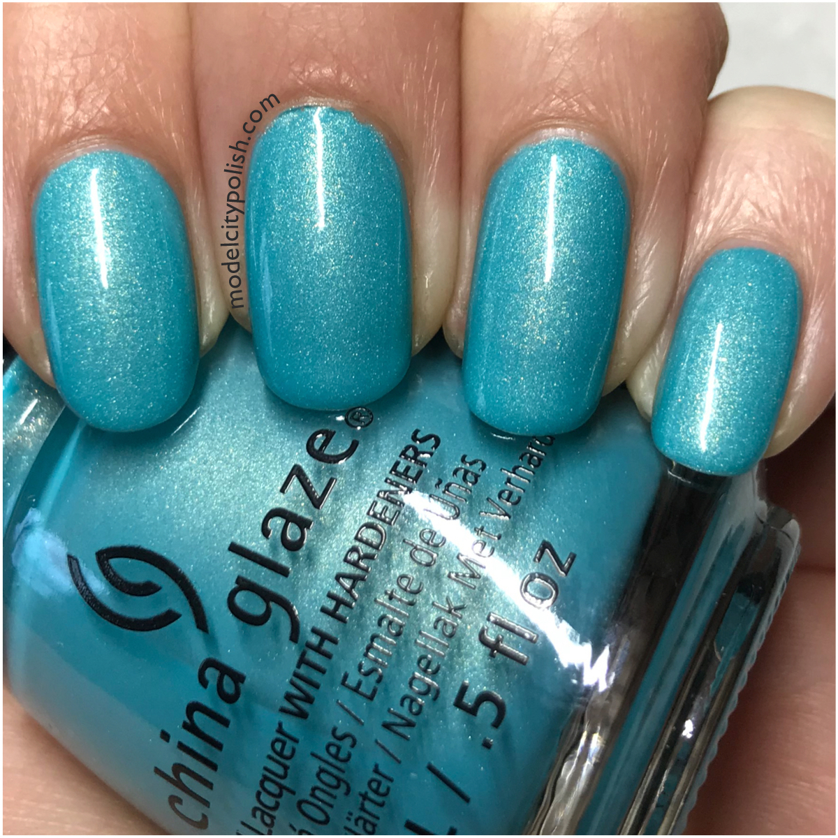 I love this shade so much and is certainly one of my favorites from China  Glaze. Thank you so much for stopping ...