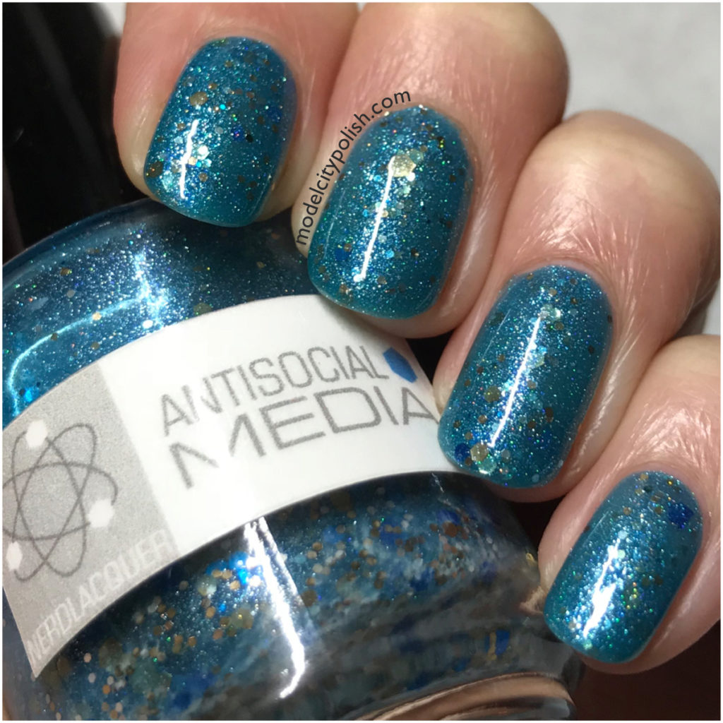 Antisocial Media by Nerdlacquer