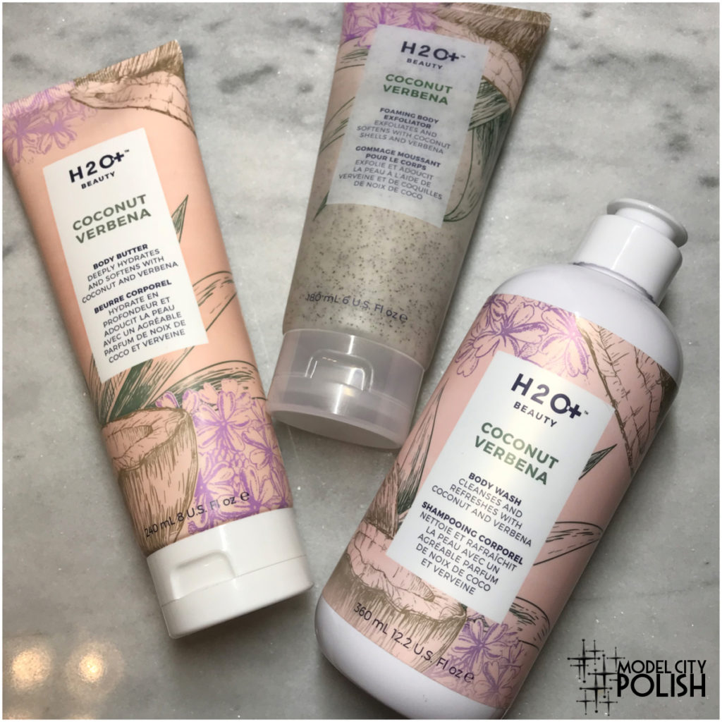Coconut Verbena Body Collection by H2O+ Beauty