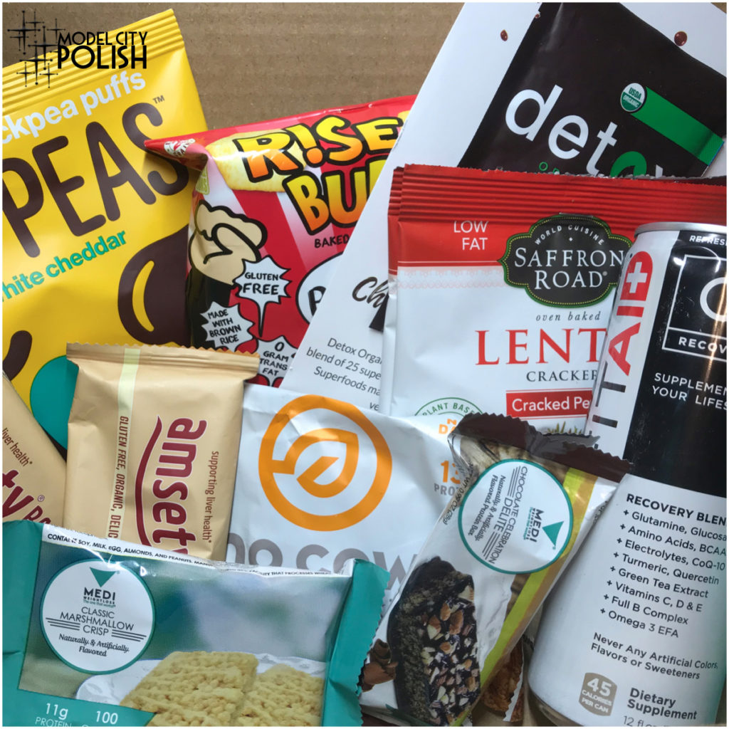 Fit Snack Box April 2018