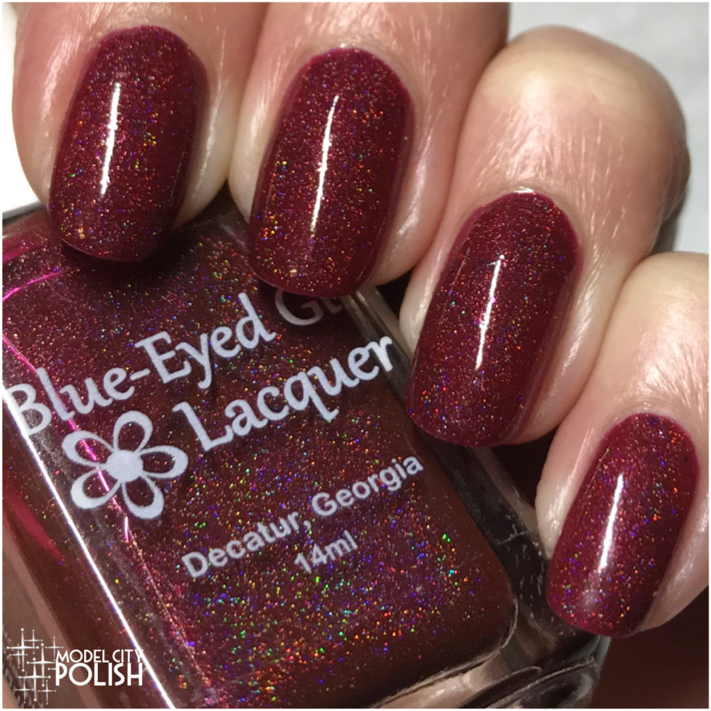 These Be Rubies, Fairy Favors by Blue-Eyed Girl Lacquer