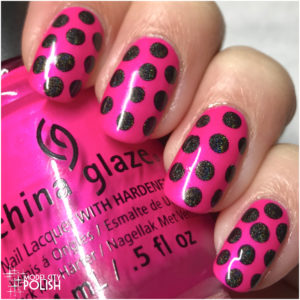 Holographic Dotticure with SuperChic Lacquer and China Glaze