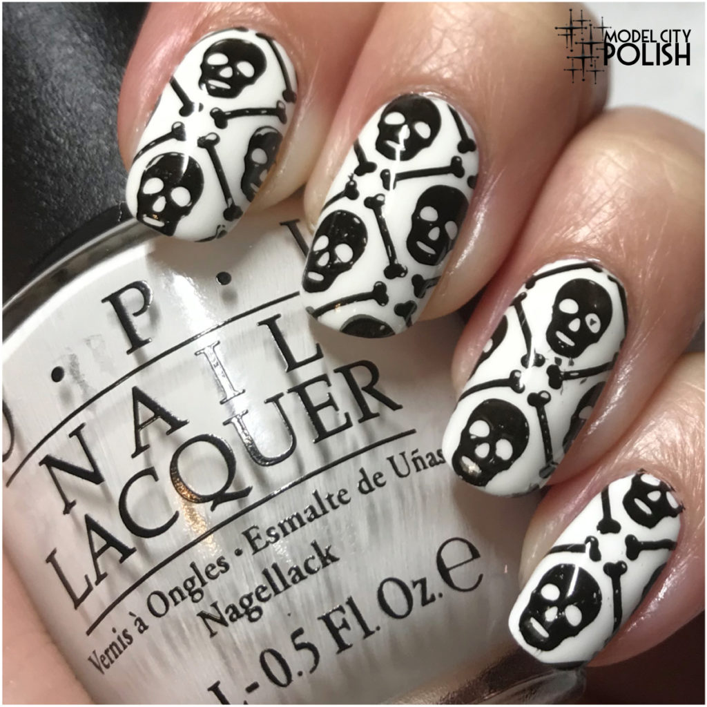 Inspired by Literature Nail Art