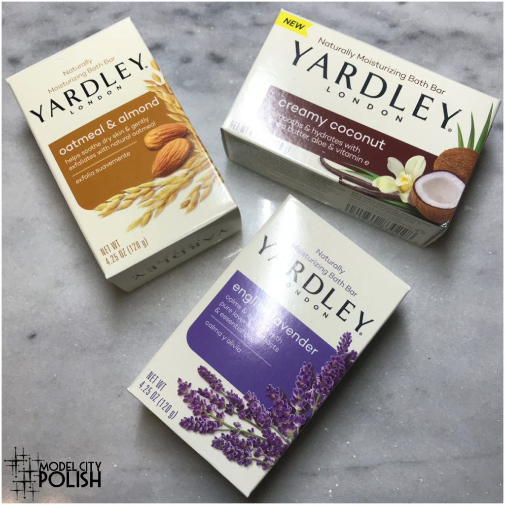 Moisturizing Bath Bars by Yardley London