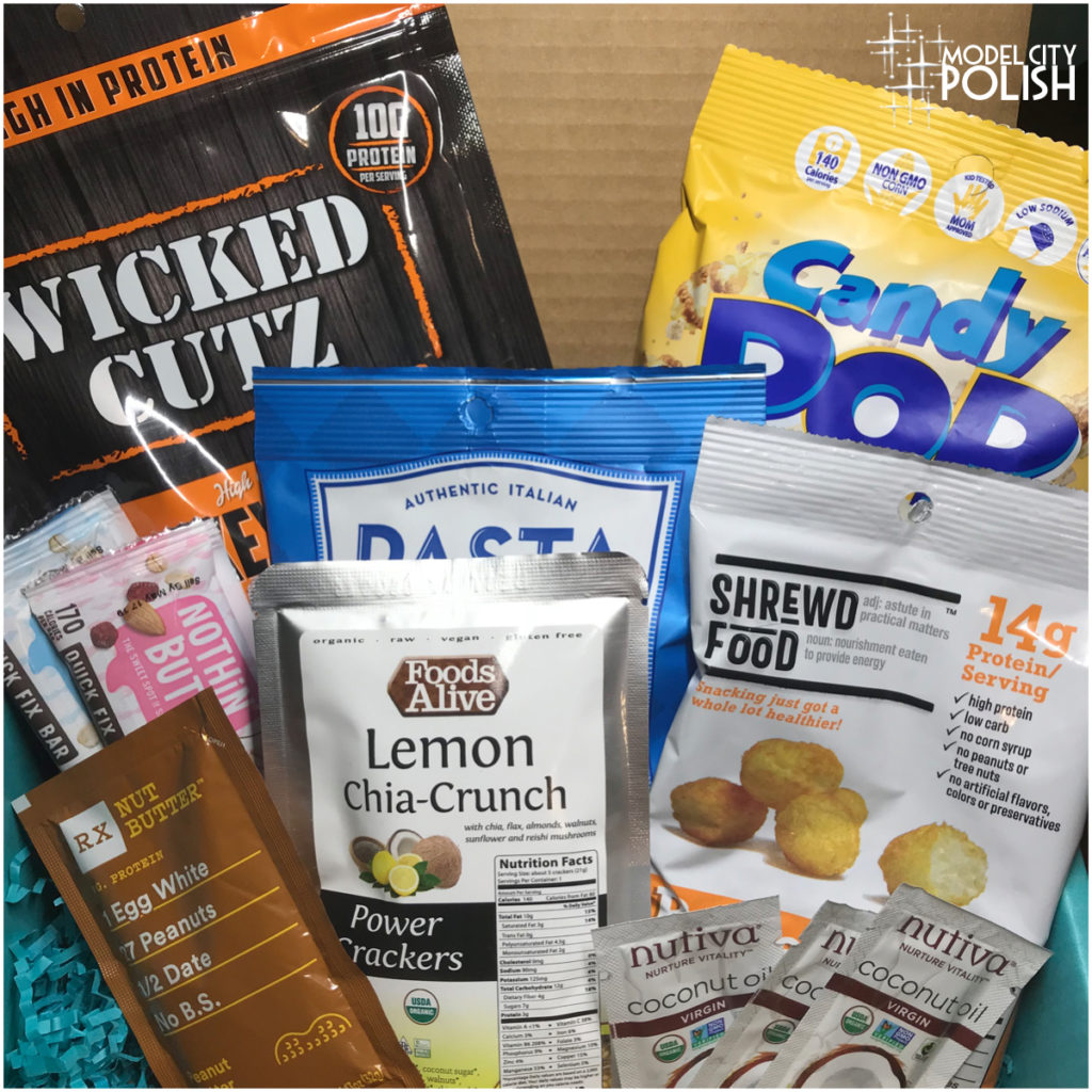Fit Snack Box August 2018