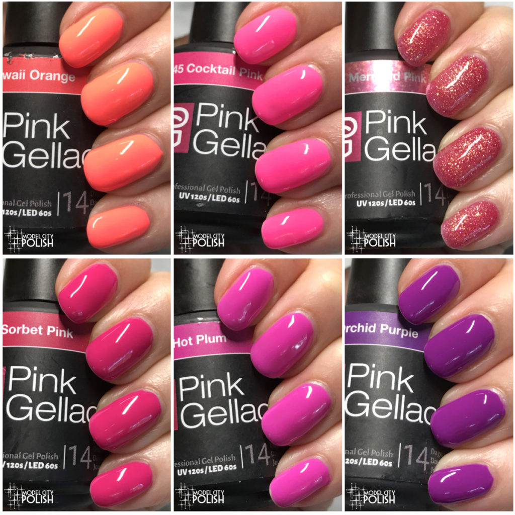 Tropical Island Collection from Pink Gellac