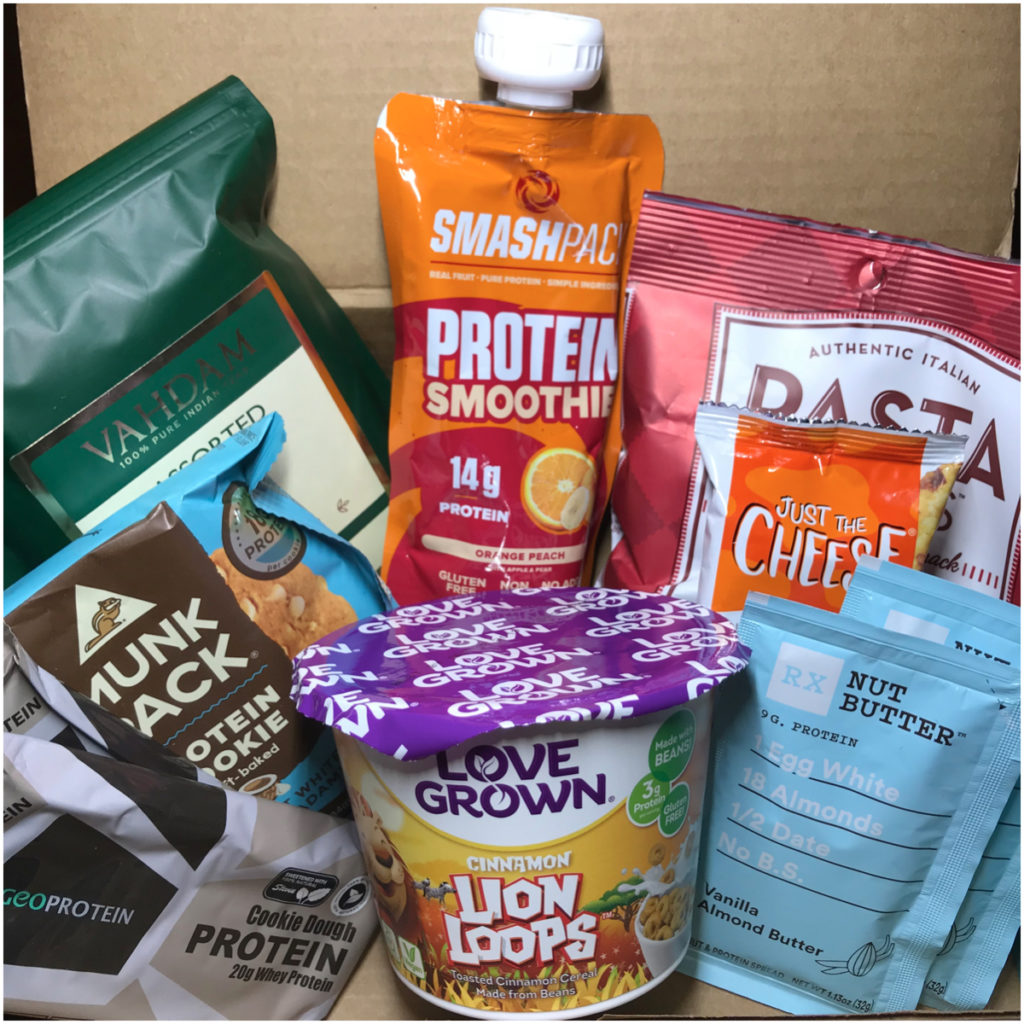 Fit Snack Box – October 2018