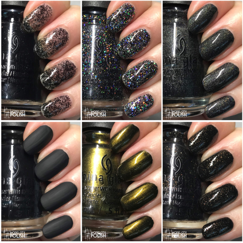 Paint It Black Collection by China Glaze