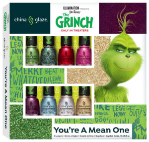 The Grinch & China Glaze Collaboration