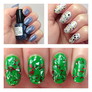 Different Dimension Holiday Polish