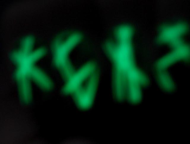 Glow in the Dark Laser Nails