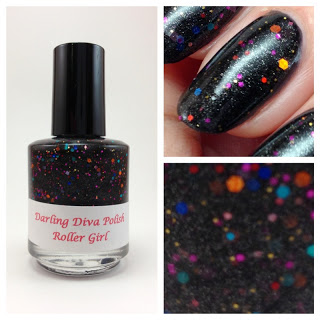 Darling Diva Polish Roller Girl