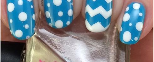 Blue Nails 1