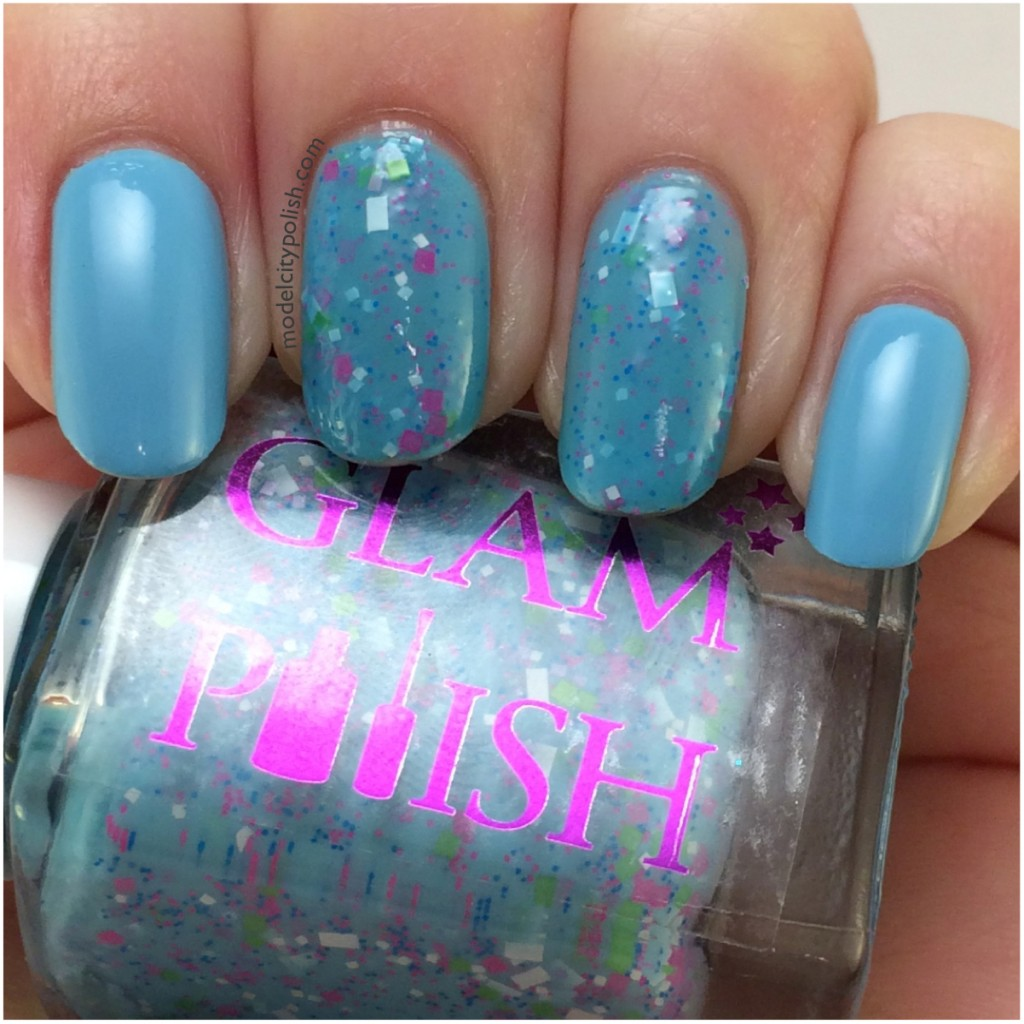 Blue Nails – #31DC2014 Day 21 Color
