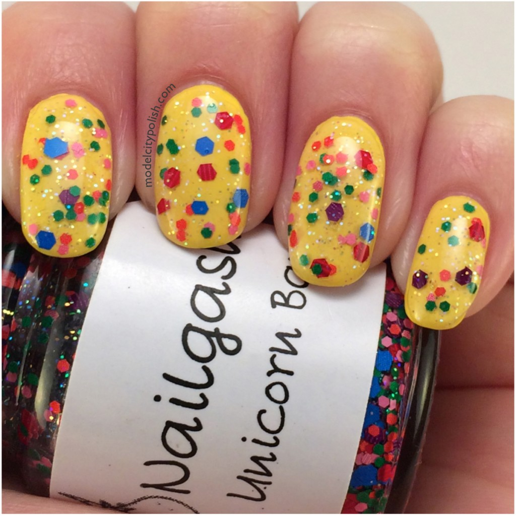 Shiny Happy Nails – #31DC2014 Day 3 Yellow