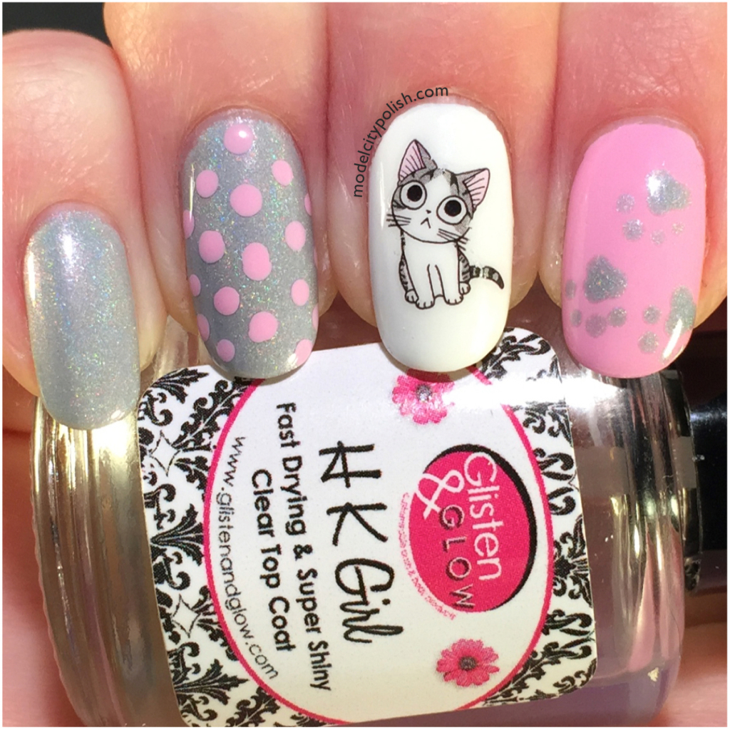 Adorable Cat Nails Thanks to Born Pretty Store