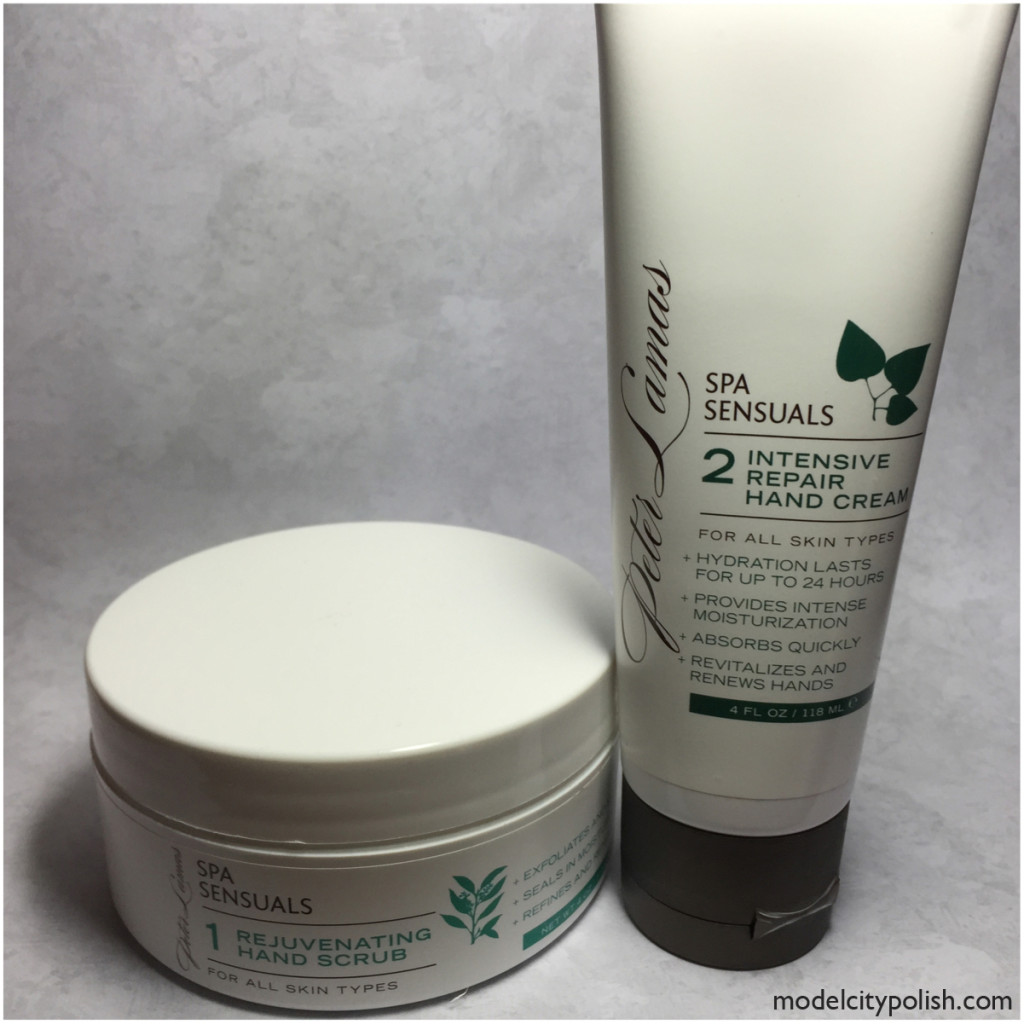 Rejuvenating Hand Scrub and Intensive Repair Hand Cream by Peter Lamas