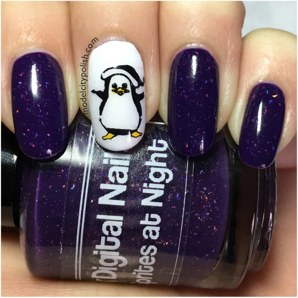 Penguins – Challenge Your Nail Art