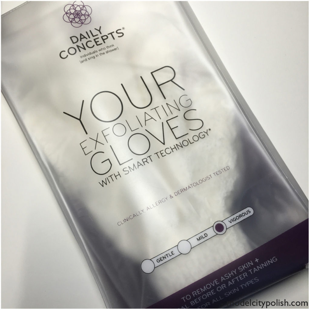 Your Exfoliating Gloves by Daily Concepts