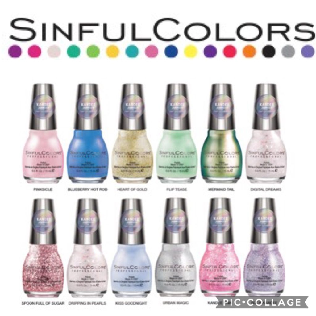 SinfulColors Announces Collaboration with   Kandee Johnson