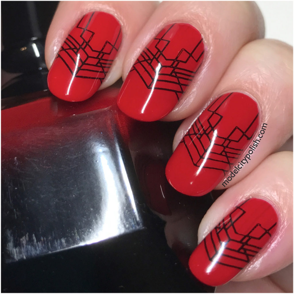 Art Deco with Powder Perfect