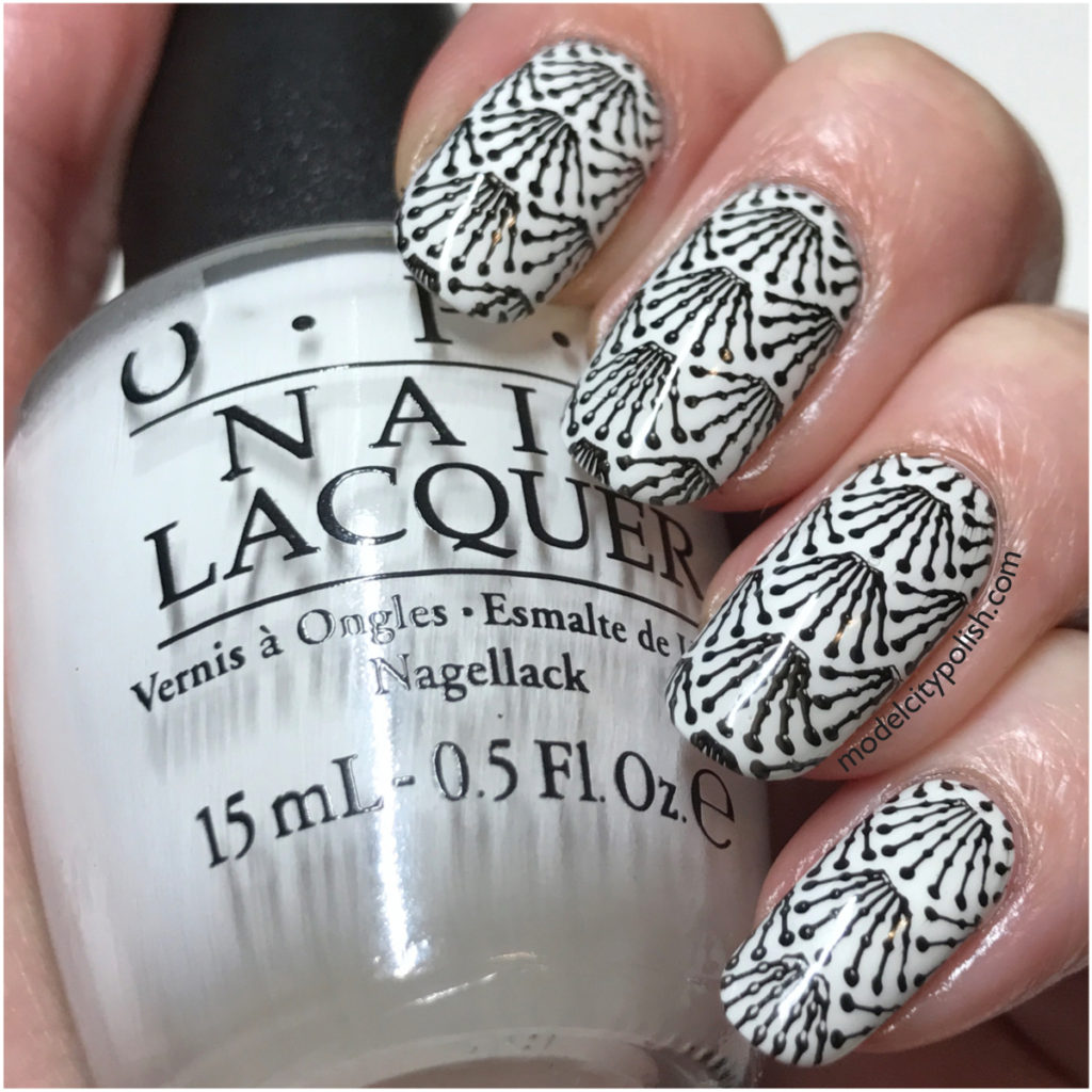 Art Deco with OPI and Powder Perfect