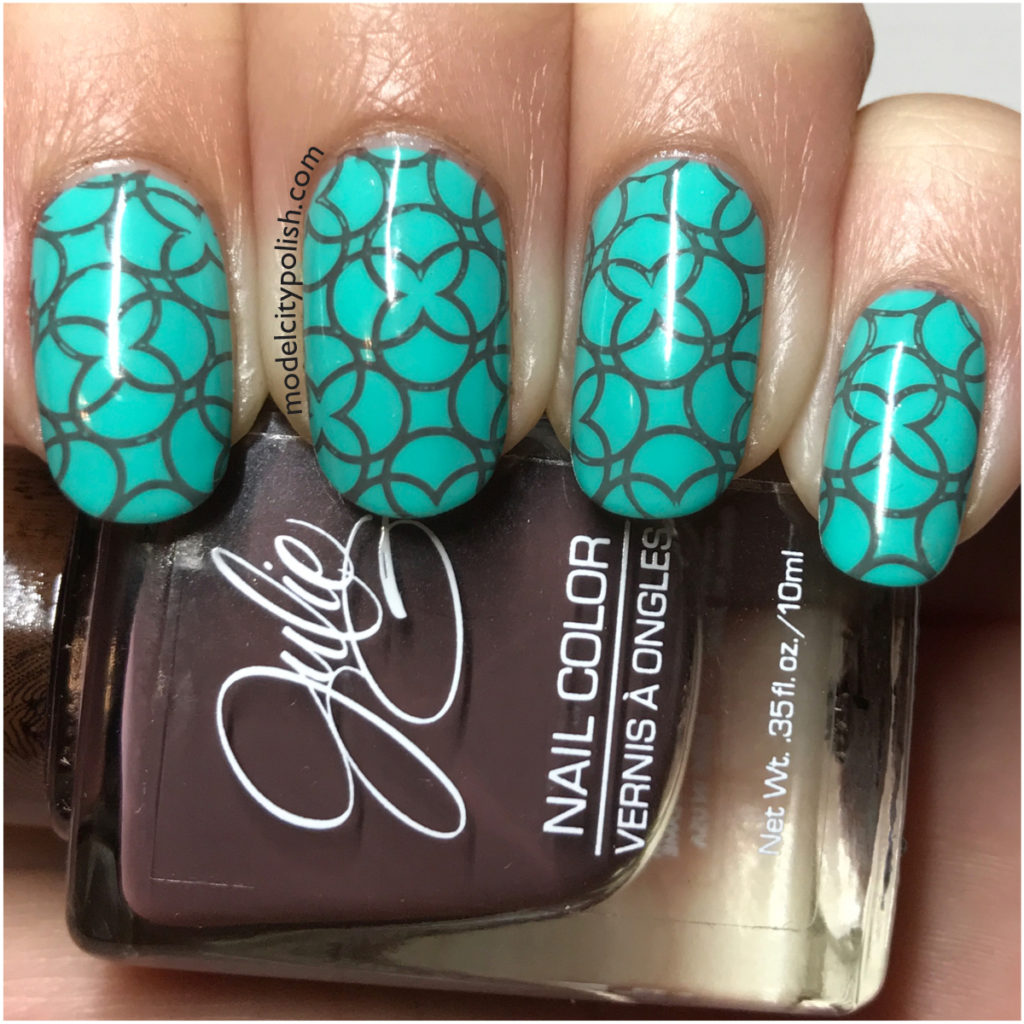 Stamping with JulieG