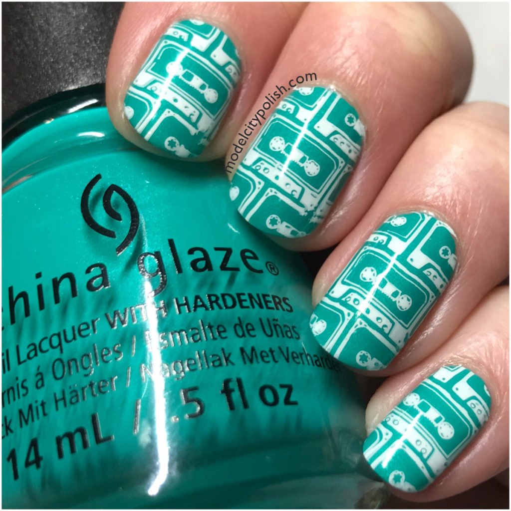 Cassette Tapes with China Glaze and MoYou London