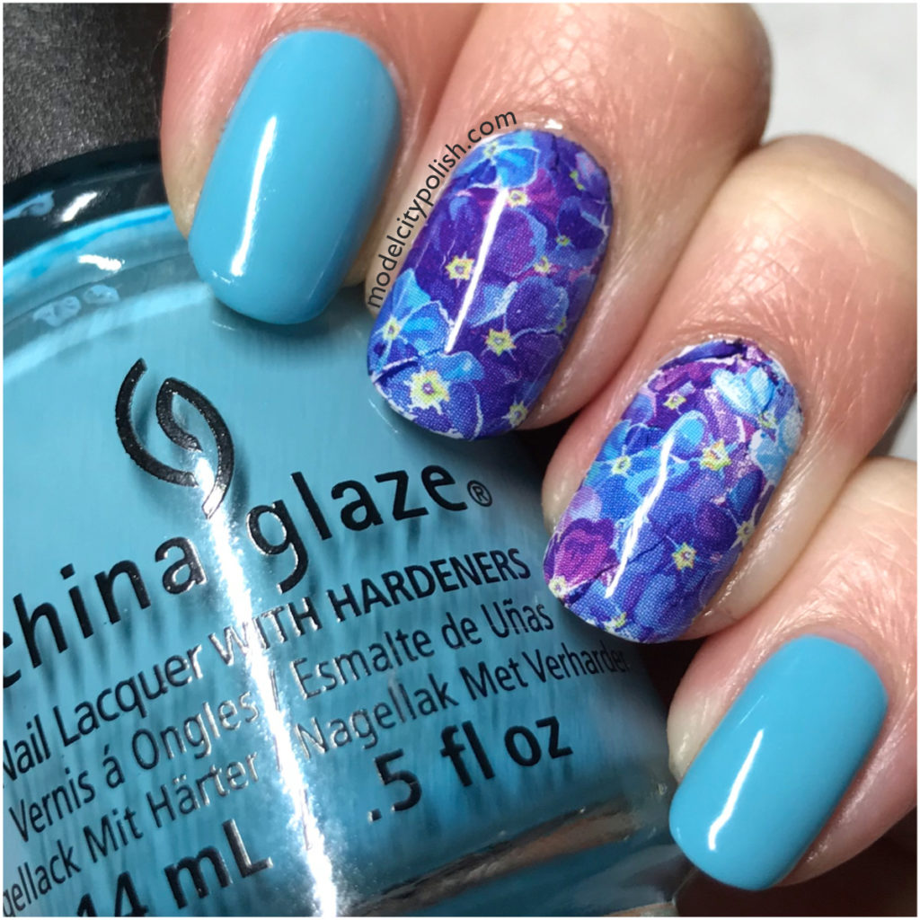 Flowers with KBShimmer