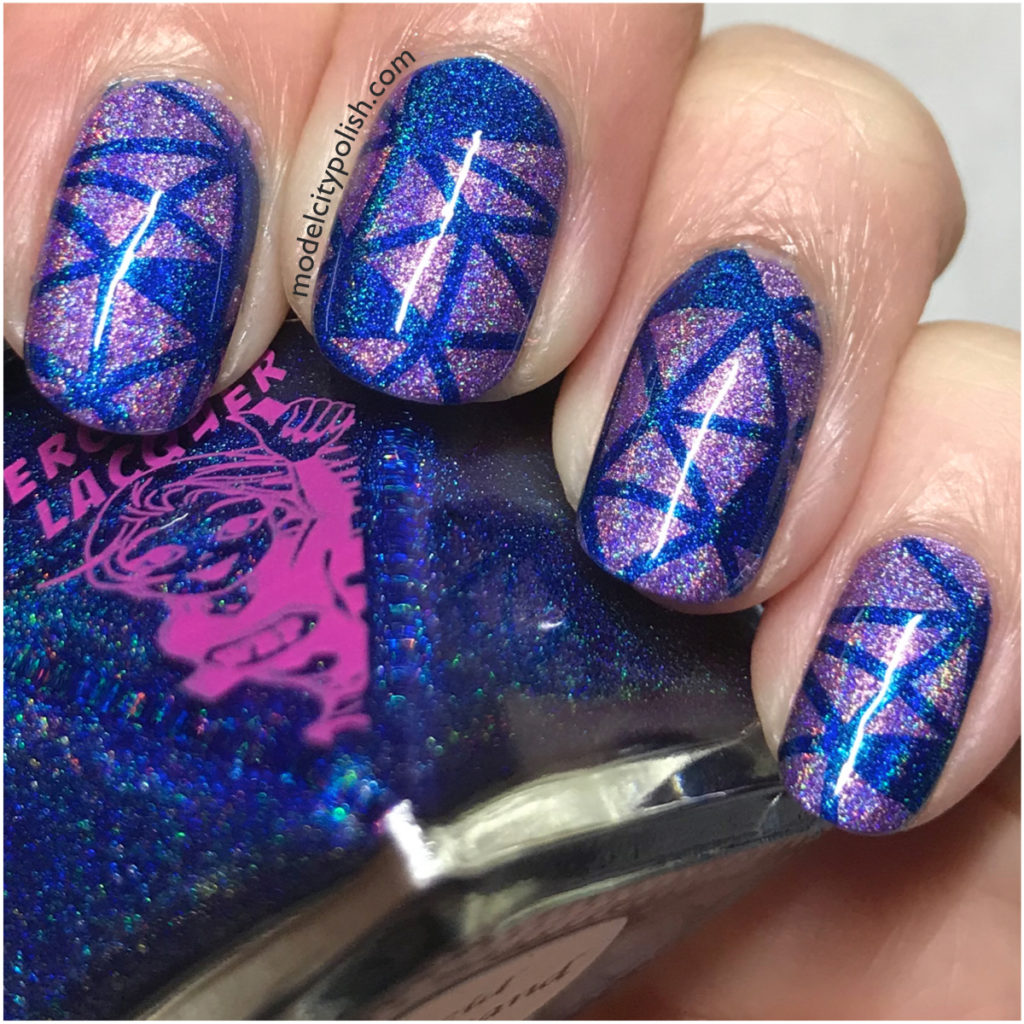 Holo Shards with Color Club and SuperChic Lacquer
