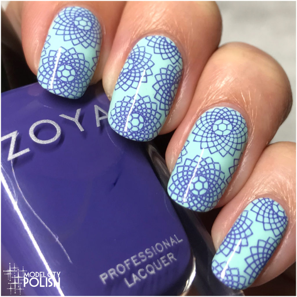 Spirograph with Zoya and China Glaze