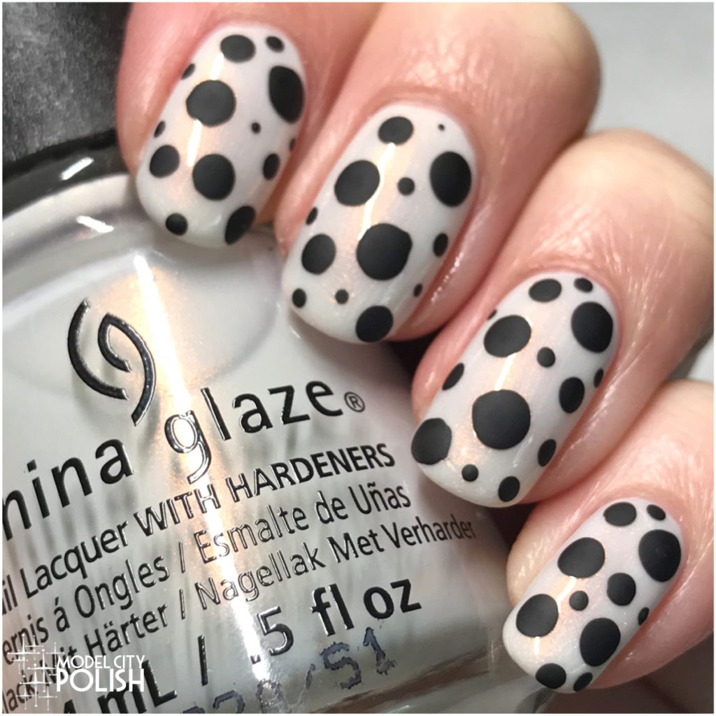 Matte Dotticure with China Glaze
