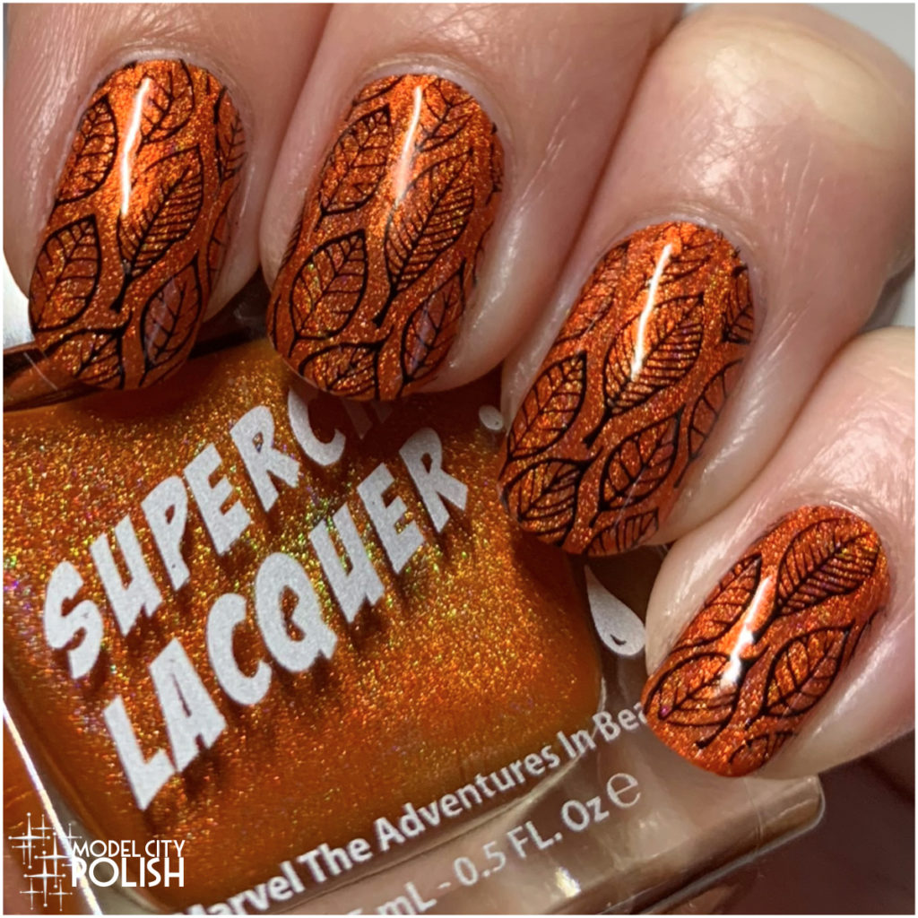 Fall Leaves with SuperChic Lacquer